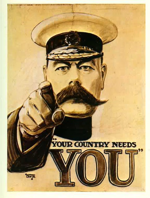 Lord Kitchener WWI poster