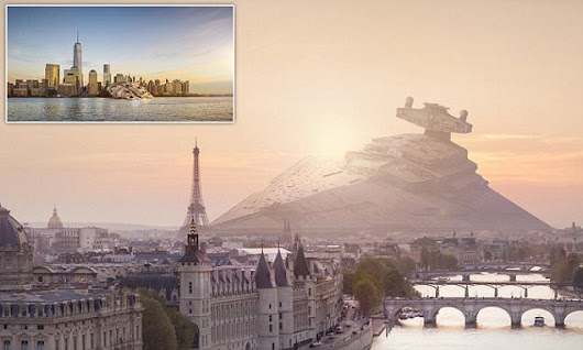 Move over Abrams: Artist's stunning images of crashed Star Wars ships