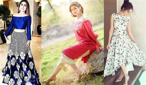 New Off The Shoulder Dresses Fashion In Pakistan 2017