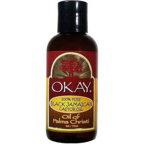 Okay Black Jamaican Castor Oil, 4 oz