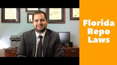 Repossession Laws in Florida – Bankruptcy Attorney Explains