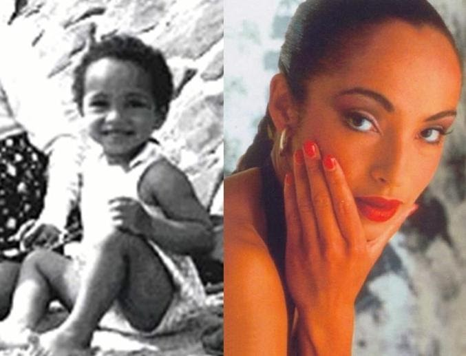 sade adu throwback pic as a baby with parents 56yrs ago in