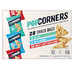 PopCorners Popped-Corn Snack, Variety Pack, 1 oz, 28-count