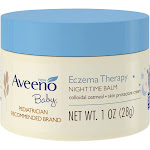 Aveeno Baby Eczema Therapy Nighttime Balm - 1 oz jar
