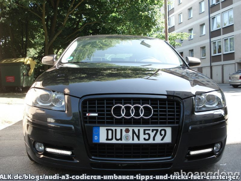 Audi A3 8p Schwarzer Grill