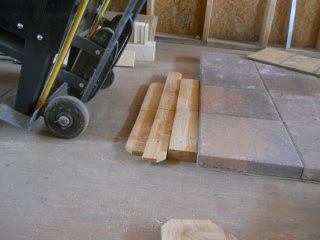 Stove Step Stone Ramp