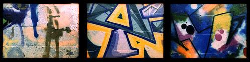 graffiti triptych by pho-Tony