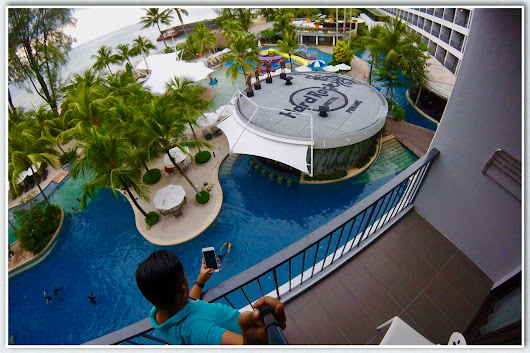 Hotel Review | Hard Rock Hotel Penang FAM Trip With Media & Blogger - Faizal Fredley