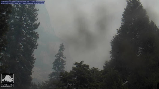 Wildfire Near Yosemite Quadruples in Size, Brings Smoky Conditions to Valley