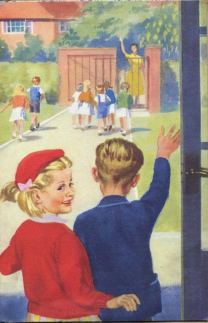Vintage Ladybird Books 'Going to School' | Flickr - Photo Sharing!