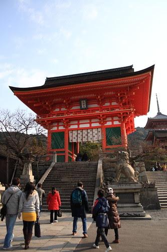 Main gate of Kiyomizu temple