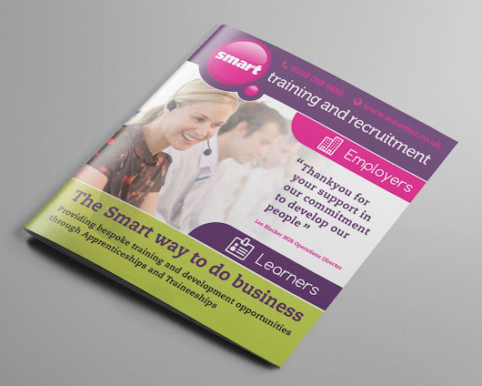 Smart Training and Recruitment - IOW graphic design