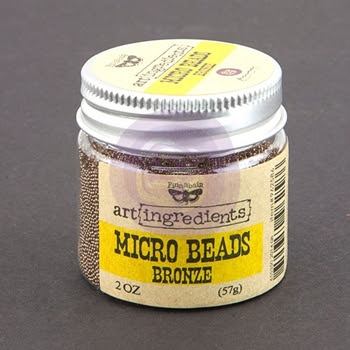 Prima Flowers BRONZE Art Ingredients Micro Beads 962586