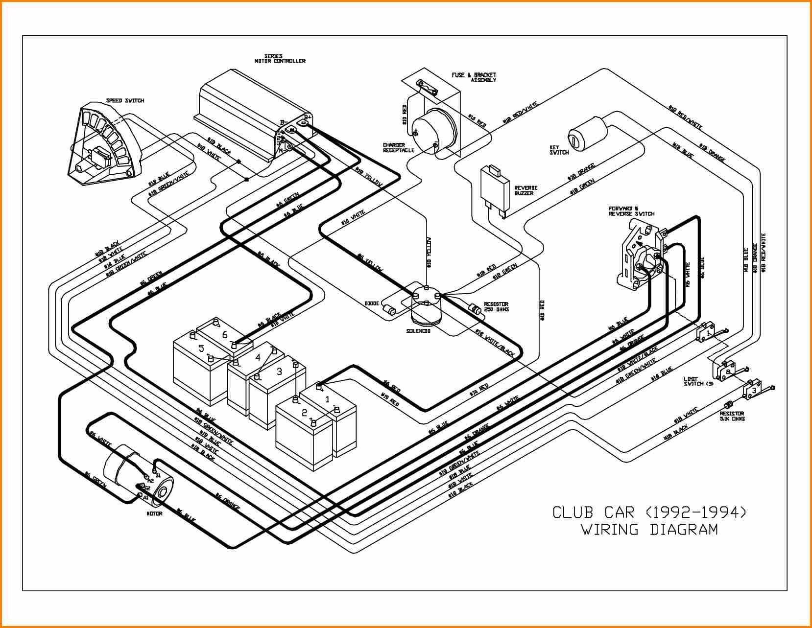 Club Car Electric Wiring Diagram