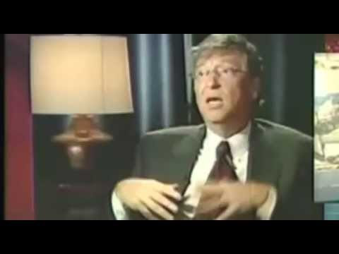 4 times Bill Gates said vaccines would reduce world population