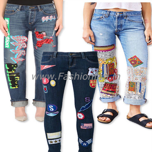DIY Your Favorite Denims with Patches - Fashionfad
