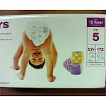 Up&Up Bulk Plus Pack Diapers, Size 5 - 172 count