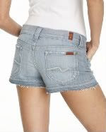 7 For All Mankind Shorty Shorts