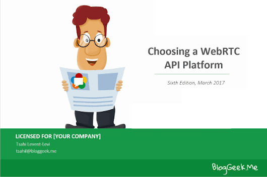 Check the Pulse of WebRTC and CPaaS in my Updated Report • BlogGeek.me