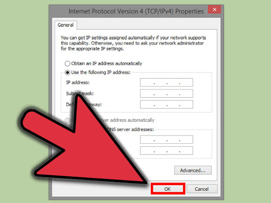 How to Change Your IP Address (Windows)