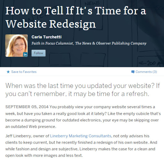 Signs Your Website Might Need a Re-Design or Update