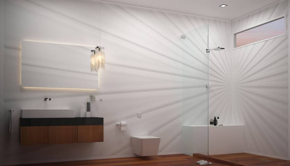 Bathroom - Corian® solid surfaces, Corian®