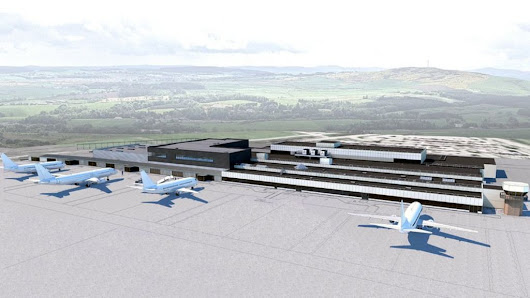 Major Aberdeen International Airport revamp under way - BBC News