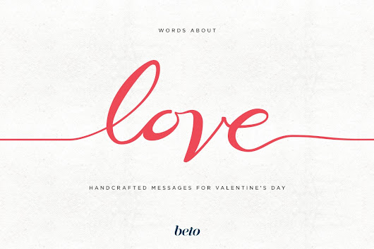 Words about Love ~ Illustrations on Creative Market