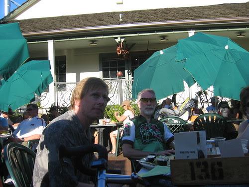 Scott (birthday boy) and Nat at Edgefield
