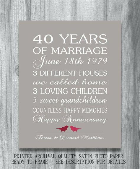 40th Wedding Anniversary Gifts Uk   Lamoureph Blog