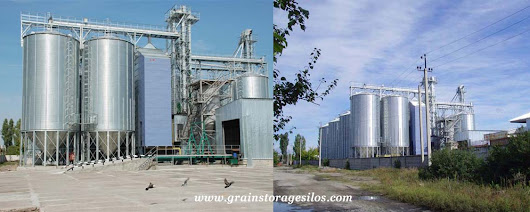 Sunflower Steel Silos - Flat Silo, Hopper Silo, Powder Silo, Feed Silo