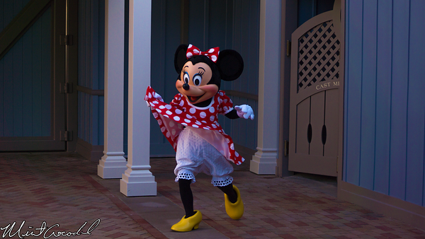 Disneyland Resort, Disneyland, Main Street U.S.A., Corridor, Livery , Minnie Mouse