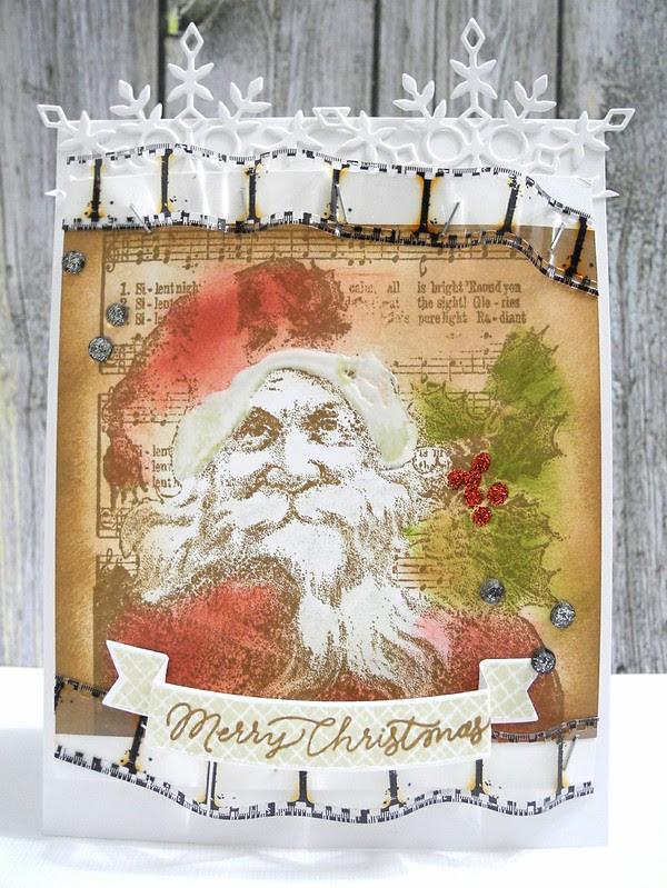 Vintage Santa Christmas