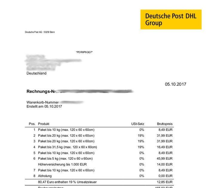 Ebay Rechnung Bekommen
