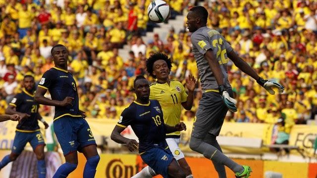 Equador faz péssima partida e conhece sua primeira derrota