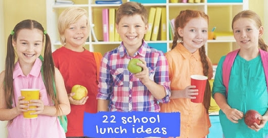 22 School Lunch Ideas - | Bakersbeans (Wanda Baker)