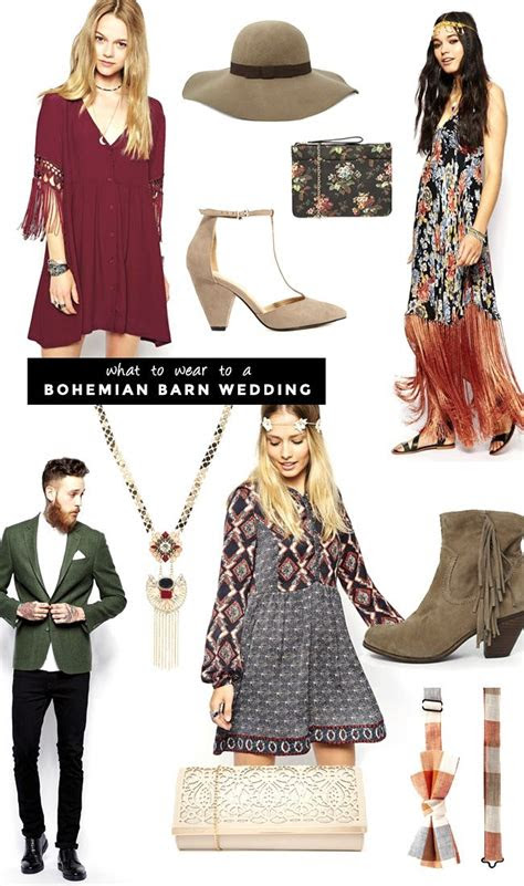 bohemian wedding guest dress