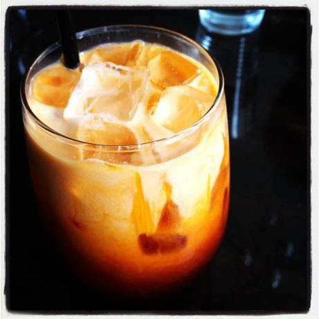 final production of the traditional Thai Iced tea
