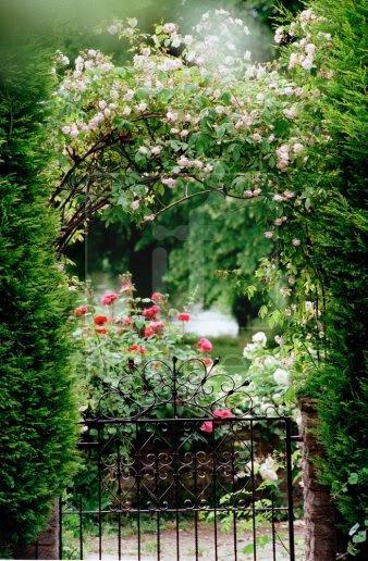 emilialua1:  Garden gate