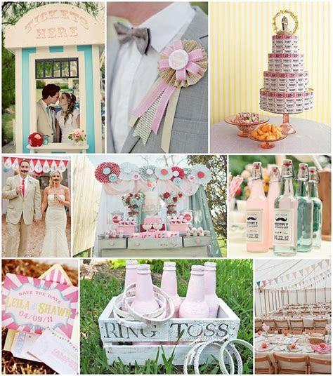 All the fun of the fair wedding ideas