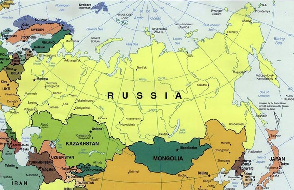 How Many Countries Does Russia Border Quora