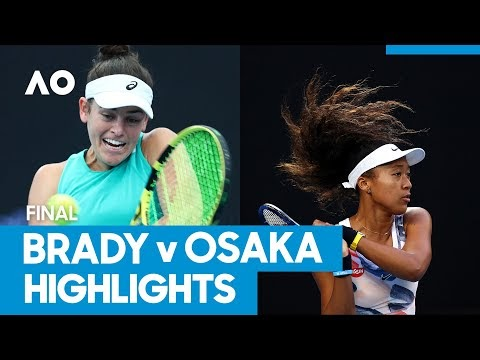 Australian Open 2021: Naomi Osaka vs Jennifer Brady Championship Match Highlights