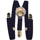 Private Island Navy Blue Child Suspenders 1296