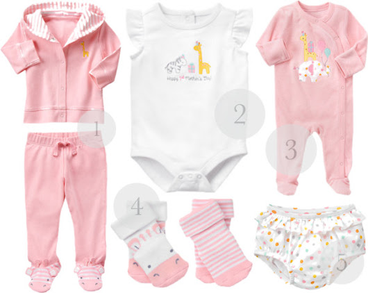 Newborn Gift Ideas from Gymboree´s New Line for Babies