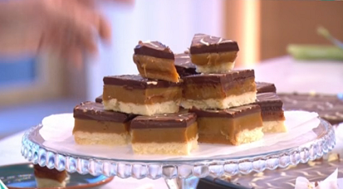 Phil's deliciously naughty millionaire's shortbread recipe ...