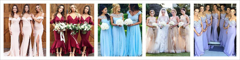 MillyBridal Bridesmaid Dresses UK