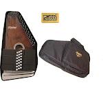 Oscar Schmidt 21 Chord/11 Key A/E Autoharp w/ Gig Bag, Select Maple, OS21CE-AC445