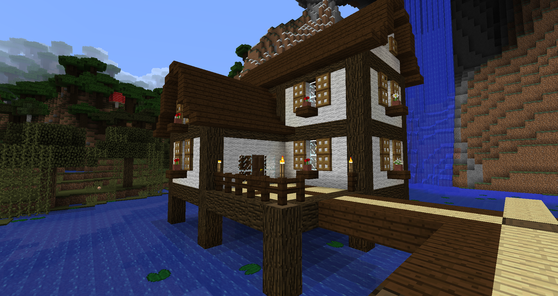 Post Your Survival Modded or Vanilla Houses Here ...