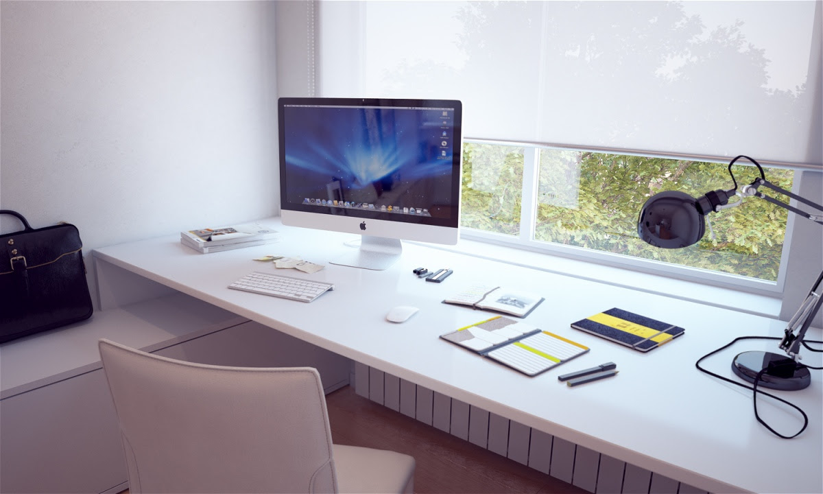 8 Most Inspiring About Casual and Modern Home Office Desks ...