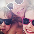 Bikini mom Gwyneth Paltrow shares rare snap of her children Apple and Moses on beach holiday